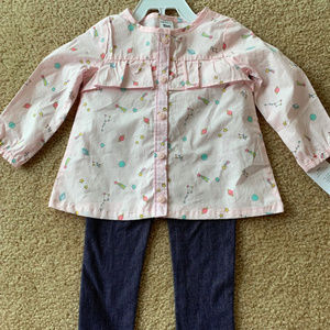 NWT Carters 2-Piece Outfit 18 Months Baby/Toddler